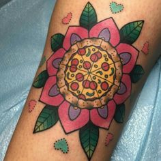 Pizza tattoo