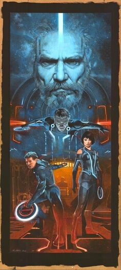 Tron: Legacy by Mark Raats, via From up North