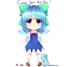 #teamaoi #nyanvsaoi #marvyuchida Short haired aoi as cirno
