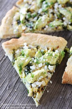 Charred Corn and Avocado Pizza Recipe on twopeasandtheirpod.com