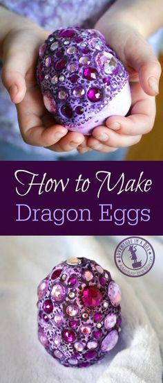 How to Make Fantasy Dragon Eggs