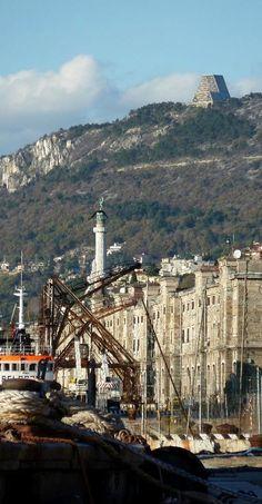 Porto Vecchio, Trieste, Italy (by elisa tenente)