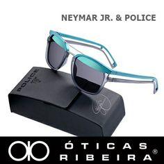 A marca italiana Police lançou Neymar Jr. como garoto propaganda em 2014!!  Este a6bef48705