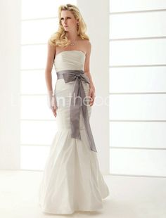 This is the website I got my wedding dress from for a ridiculously low price and it was perfect....for any girls out there who might be looking for wedding dresses...you know who you are!  Wink! Trumpet/ Mermaid Strapless Floor-length Taffeta Wedding Dress    US $199.99