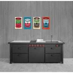 WARHOL - Campbell s Soup Can, 1965 21x35 cm #artprints #interior #design #art #prints #Warhol  Scopri Descrizione e Prezzo http://www.artopweb.com/autori/andy-warhol/EC18114