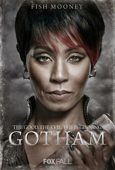 Entertainment Weekly just shared eight new character posters from Gotham. EW predicts that Gotham will have a major presence at Comic-Con next month, so we can expect to learn more about the show v… Jada Pinkett Smith, Live Action, Gotham Season 1, James Gordon, Gotham Characters, Dc Comics, Gotham News, Fish Mooney, Gotham Tv Series