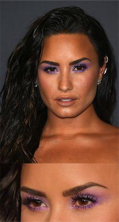 Sombra Lilás? Anitta e Demi Lovato usam!