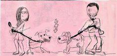 kartka na ślub, ola i łukszasz, para młoda, dwa psy
