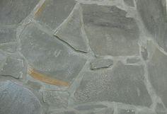 Front entry flooring = Grey flagstone