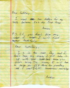 funny kids notes - this girl is going places lol!