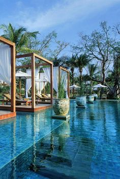 10 Incredibly Sublime Places to Travel to this Winter Incredibly Sublime Places to Travel to this Winter 25 Most Luxurious Hotels Worth the Money Boutique Hotel The Sarojin, Khao Lak, Thailand. Vacation Destinations, Dream Vacations, Vacation Spots, Vacation Travel, Florida Hotels, Hotels And Resorts, Luxury Resorts, Beach Resorts, Beautiful Hotels