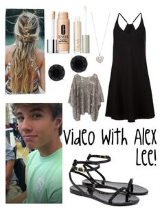 Video with Alex Lee! by rileyen on Polyvore featuring polyvore, fashion, style, ATM by Anthony Thomas Melillo, Mes Demoiselles..., Ted Baker, Anne Klein, Accessorize, Clinique, Ilia and clothing