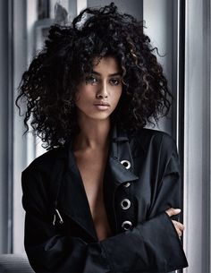 EXCLUSIVE – IMAAN, TAYLOR & ANNA – VOGUE UK FEBRUARY 2017