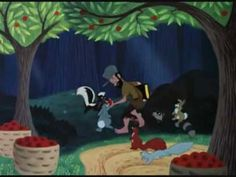 Disney's 1948 Johnny Appleseed - Melody Time Pt 2