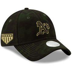 c011fa560 Oakland Athletics New Era Women's 2019 MLB Armed Forces Day 9TWENTY  Adjustable Hat - Camo,