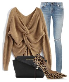 Untitled #1046 by mkomorowski on Polyvore featuring polyvore, fashion, style, Yves Saint Laurent, Jimmy Choo, MICHAEL Michael Kors and clothing