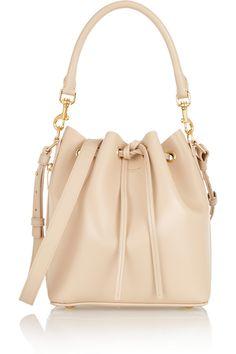 Saint Laurent|Emmanuelle medium leather bucket bag