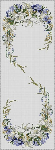 This Pin was discovered by min Cross Stitch Needles, Cross Stitch Heart, Cross Stitch Borders, Cross Stitch Flowers, Cross Stitch Kits, Cross Stitch Designs, Cross Stitching, Cross Stitch Embroidery, Embroidery Patterns