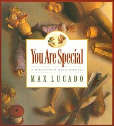 Max Lucado has such a gift for painting pictures with words - love all of his children's book!