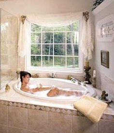 20 beautiful and relaxing whirlpool tub designs florida house rh pinterest com Whirlpool Tub Tile Ideas Whirlpool Corner Tub Designs
