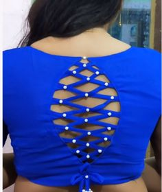 Cutwork Blouse Designs, Simple Blouse Designs, Saree Blouse Neck Designs, Stylish Blouse Design, Choli Blouse Design, Blouse Neck Models, Sari Design, Fancy Dress Design, Blouse Designs Catalogue