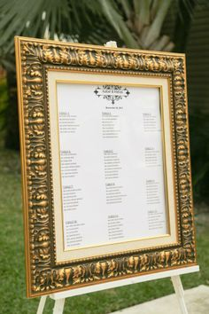 Guest list for wedding reception