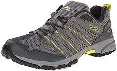 Montrail Mens Mountain Masochist III Trail Running Shoe Light GreyChartreuse 75 M US ** Click on the image for additional details.(This is an Amazon affiliate link)