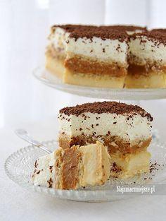 Najsmaczniejsze ciasto Toffi bez pieczenia. Lekki i puszyste, Polish Desserts, Polish Recipes, No Bake Desserts, Sweets Cake, Cupcake Cakes, Cupcakes, Yummy Treats, Delicious Desserts, Sweet Treats