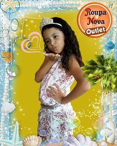 E a princesa da Helia Jorge e do Kezin, não é uma graça? Ainda mais vestindo Roupa Nova Outlet... #ModaInfantil