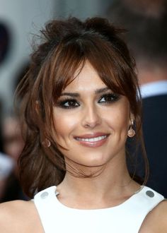 Cheryl Cole  Sexy Loose Ponytail Hairstyle for Women
