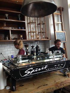 Lot Sixty One Coffee Roasters in Amsterdam West via @TravelRumors #travel #coffee #hotspots #barista #coffeeroaster #koffie