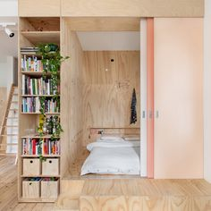 This week's Pinterest roundup focuses on micro living spaces that show how to do a lot with a little, from a bedroom in a box to a 13-square-metre studio