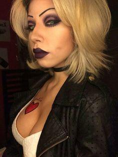 Chucky's Bride makeup!! More
