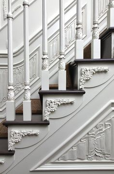 lovely stair detailing.