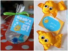 Craft That Party OFISHAlly FIVE Goldfish Party Goldfish party