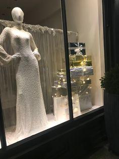 Lace Wedding, Wedding Dresses, Mirror Mirror, Window, Display, Fashion, Bride Gowns, Wedding Gowns, Moda