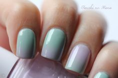 ombre nails (video is in French, but you get the idea by watching her)