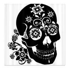 CafePress Sugar Skull Shower Curtain - Standard White CafePress,http://www.amazon.com/dp/B00FKMDBPE/ref=cm_sw_r_pi_dp_7zultb0CMR03ZR1W
