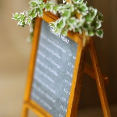 This zakka inspired dollhouse miniature menu chalkboard is going to blow your mind away with its intricate details.