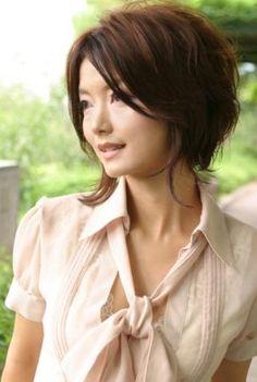 short Japanese hairstyle