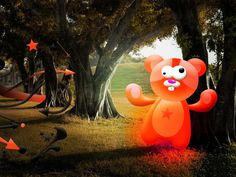 animated desktop wallpapers of teddy bear