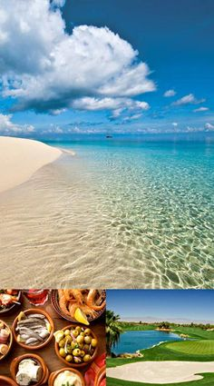 "Life in Paradise: Costa de la Luz ""The Coast of Light"" - white sand beaches..  OverseasHomes - Blog: Golf and the Costa de la Luz, Spain. #costadelaluzspain"