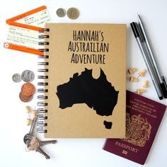 Travel Journal - Personalised with name & country