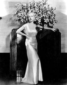"""sparklejamesysparkle: """"Carole Lombard by Eugene Robert Richee, 1934. """""""