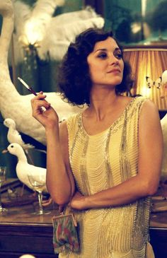 Midnight in Paris - Marion Cotillard as Zelda Fitzgerald is the perfect #Gatsby fashion inspiration!