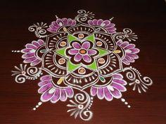 Beautiful Lotus Rangoli Design Freehand Sankranthi Diwali Muggulu*Latest Kolam with colors Diy Quilting Patterns, Hand Quilting Patterns, Rangoli Patterns, Rangoli Kolam Designs, Rangoli Designs Images, Rangoli Ideas, Kolam Rangoli, Machine Quilting Designs, Small Rangoli Design