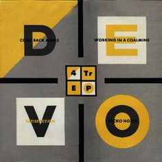 Devo, Four Track EP, 1983 #Devo #MalcolmGarrett