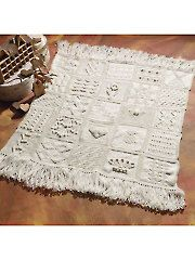 Knit - Knit Sampler Afghan - #A872893  Available at Annie's Craft Store