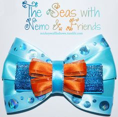 Mickey Waffles Bows - The Seas with Nemo and Friends - Buy Here! [[MORE]] The Seas with Nemo and Friends - $9. Medium bow (4 inches) comes w...