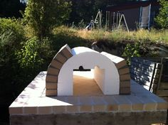 The Reimer Family Wood Fired Brick Pizza Oven in BC, Canada